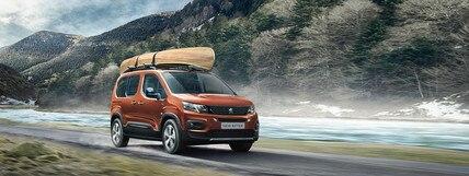 Présentation Gamme Familiale Peugeot
