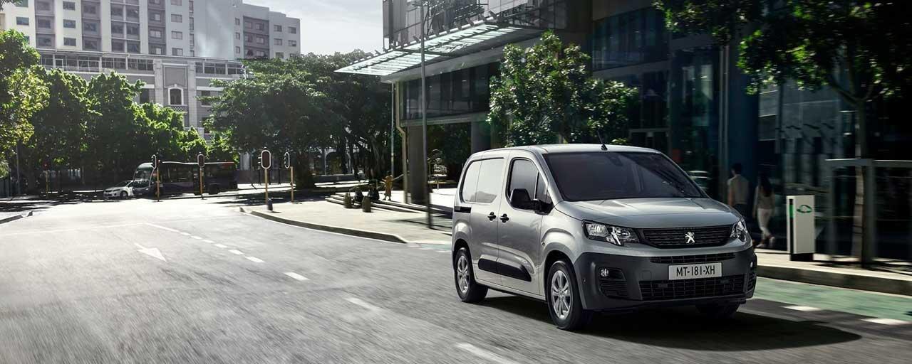 Découvrez le nouveau Peugeot e-Partner
