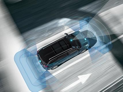 Nouveau SUV PEUGEOT 5008 : Prestations de sécurité