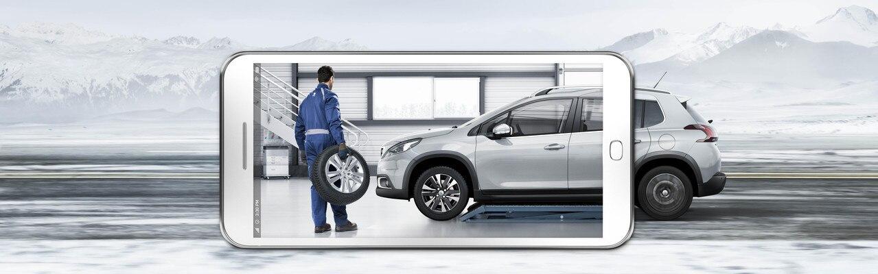 Peugeot pneu hiver