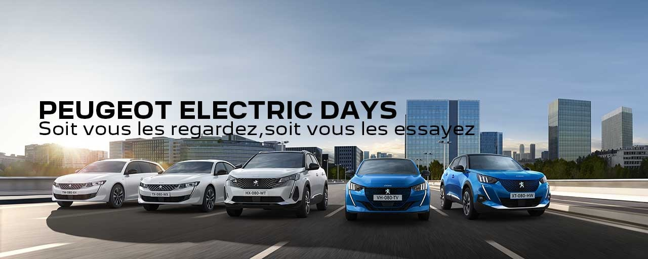 PEUGEOT | ELECTRIC DAYS