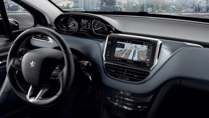 Écran d'accueil navigation – Voiture compacte Peugeot 208 5 portes 5 portes