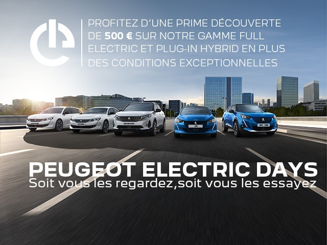PEUGEOT ELECTRIC DAYS