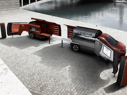 Concept Car Foodtruck