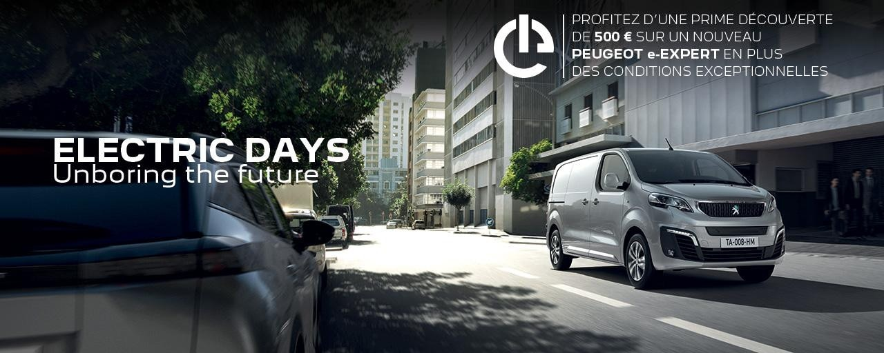 PEUGEOT ELECTRIC DAYS | NOUVEAU e-EXPERT