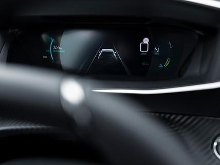 SUV PEUGEOT 2008: combiné numérique 3D configurable