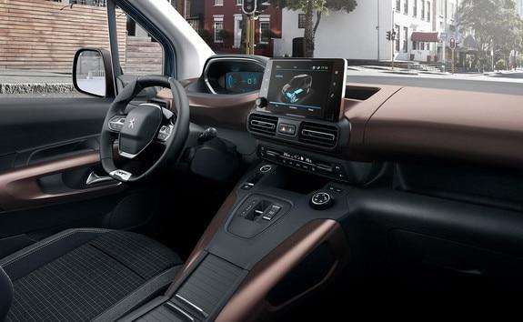 Nouveau PEUGEOT e-RIFTER – PEUGEOT i-Cockpit®