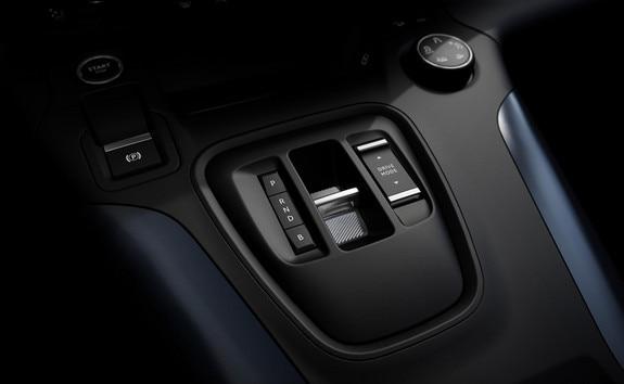 Nouveau PEUGEOT e-Rifter – commande de boîte automatique versión électrique