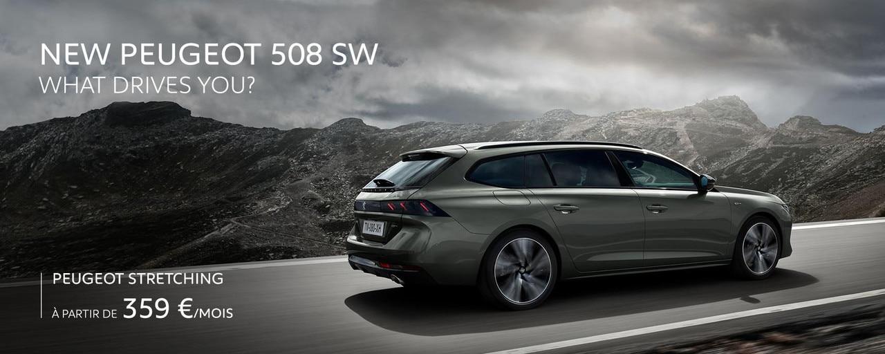 Peugeot New 508 SW Slider Home