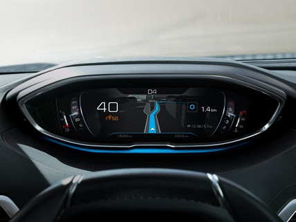Nouveau SUV PEUGEOT 3008 – Combiné numérique en haute qualité d'affichage