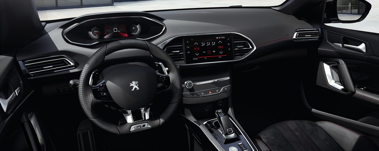 PEUGEOT 308 : PEUGEOT i-Cockpit® digital