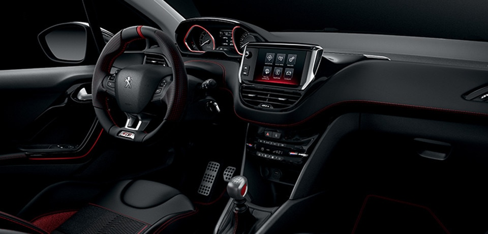Design int rieur peugeot 208 gti for Interieur 208 gti