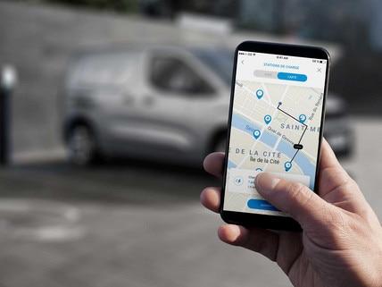 Nouveau PEUGEOT e-PARTNER – accès à MyPeugeot sur mobile
