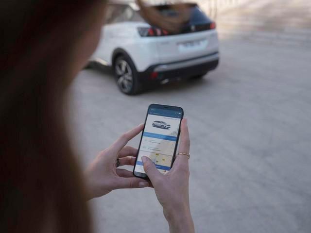 Nouveau SUV PEUGEOT 3008 HYBRID – Application MyPeugeot