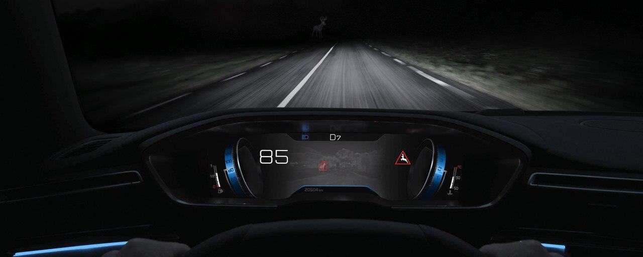 Technologie Night Vision, pour améliorer la vision de nuit - nouvelle berline PEUGEOT 508 pour les professionnels