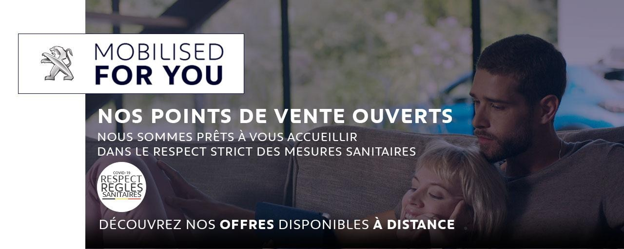 PEUGEOT - POINT DE VENTE OUVERT