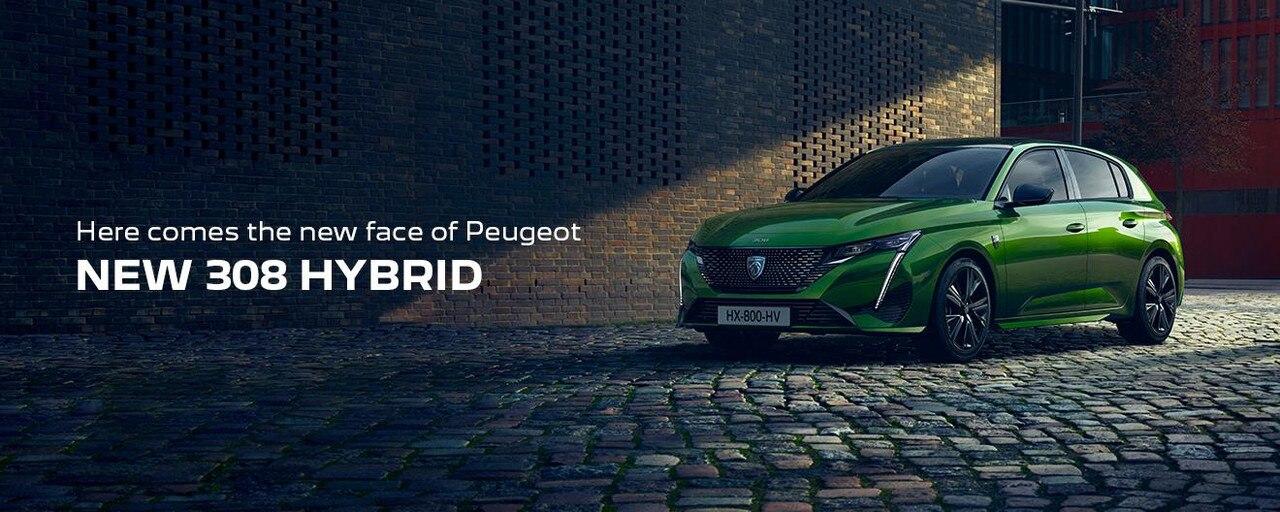 Nouvelle PEUGEOT 308 HYBRID | Le nouveau visage de Peugeot
