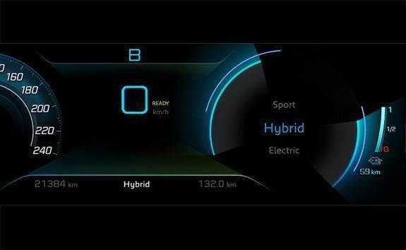 SUV 3008 HYBRID - HYBRID4