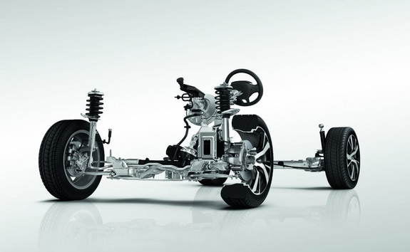 SUV PEUGEOT 2008 : structure de caisse ultra-légère