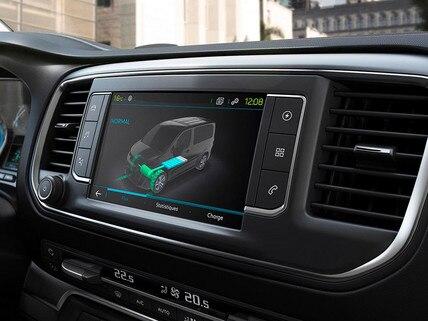 Nouveau PEUGEOT e-Traveller - Ecran tactile 3D