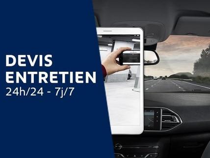 Peugeot Après-vente - Devis entretien