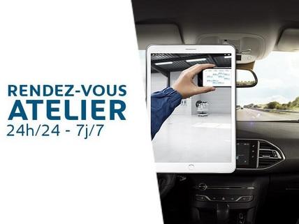 Peugeot Après-vente - Rendez vous atelier