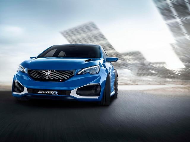 Peugeot 308 R Hybrid - Le talent des ingénieurs et stylistes au service de sensations extrêmes