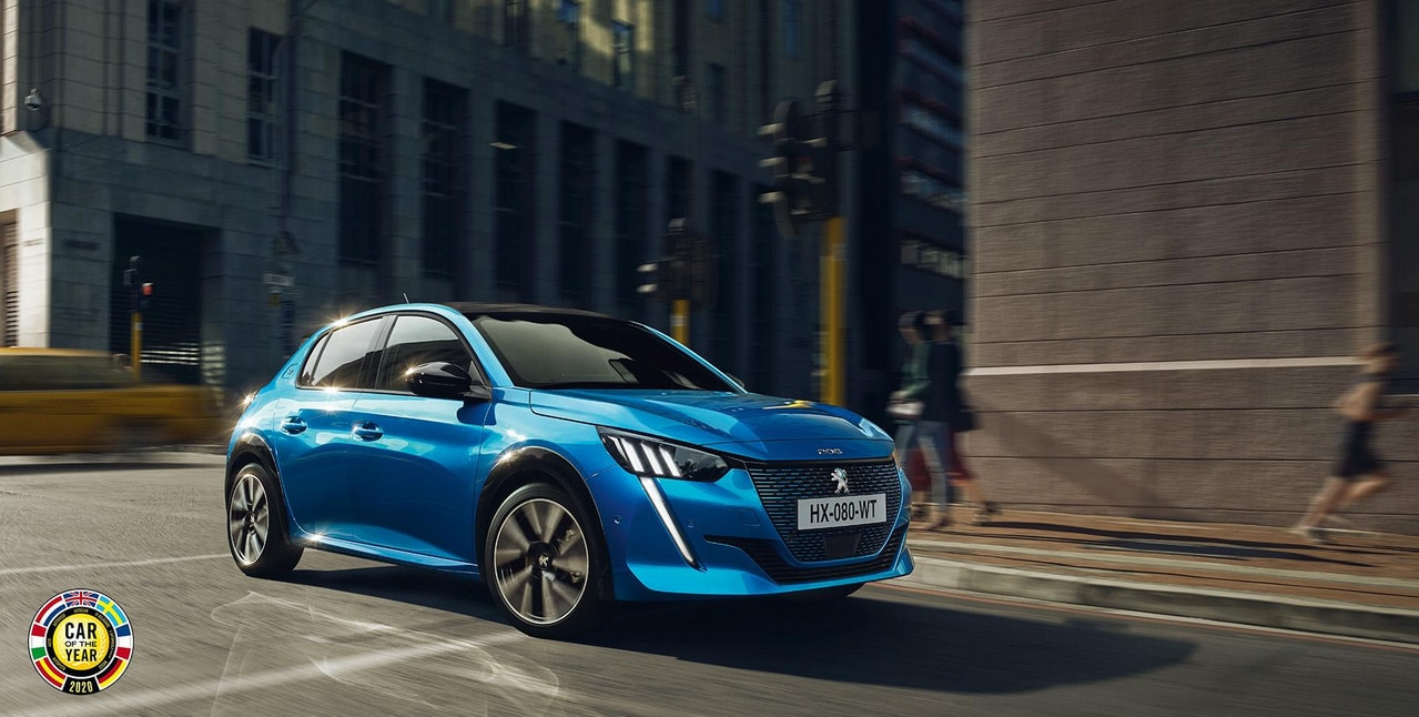Peugeot e-208 Car Of The Year 2020