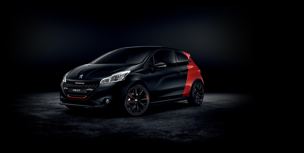 nouvelle peugeot 208 gti by peugeot sport. Black Bedroom Furniture Sets. Home Design Ideas