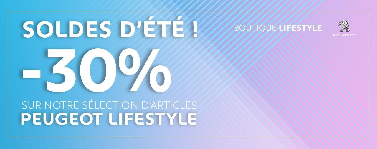 Banner Boutique Lifestyle Soldes d'été